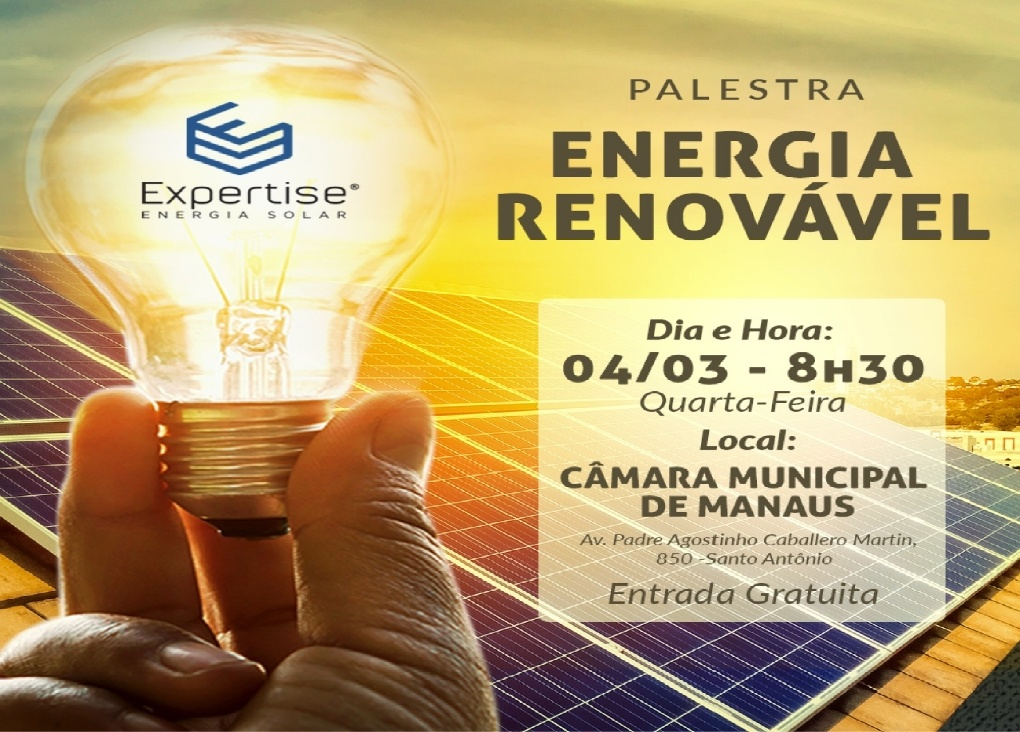 Read more about the article Expertise Solar realiza palestra sobre Energia Renovável