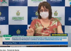 Read more about the article Covid-19. Amazonas passa dos mil casos confirmados