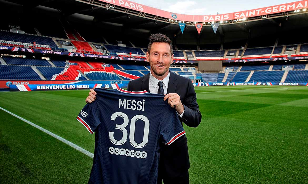 You are currently viewing Lionel Messi é do PSG